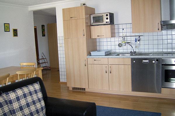 Küche- & Wohnbereich